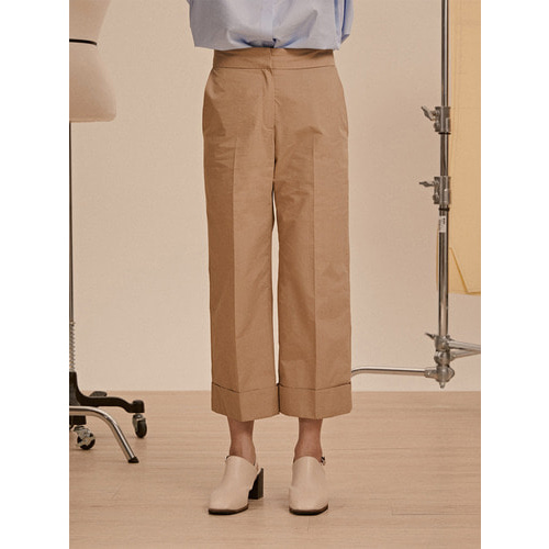 [드퐁_DEFOND] CROP CABRA PANTS