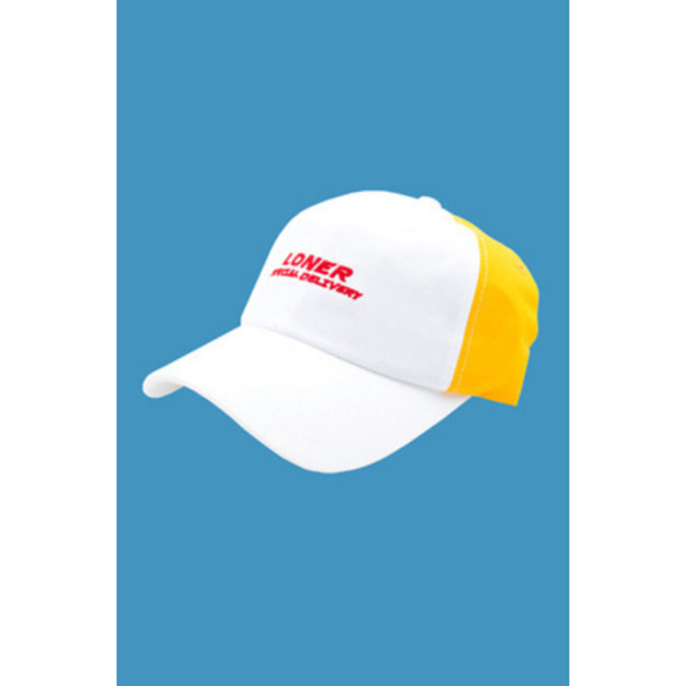 로너 LONER FASTFOOD BALL CAP-YELLOW