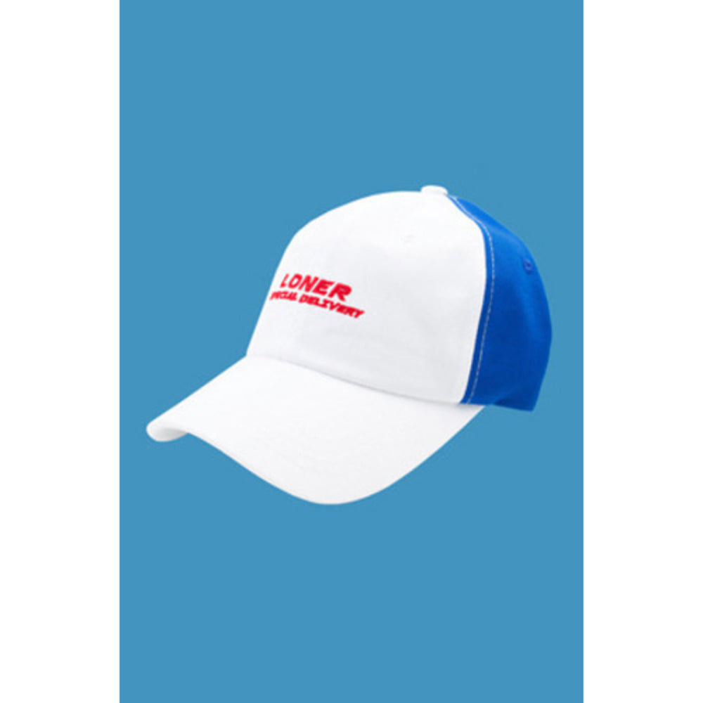 로너 LONER FASTFOOD BALL CAP-BLUE