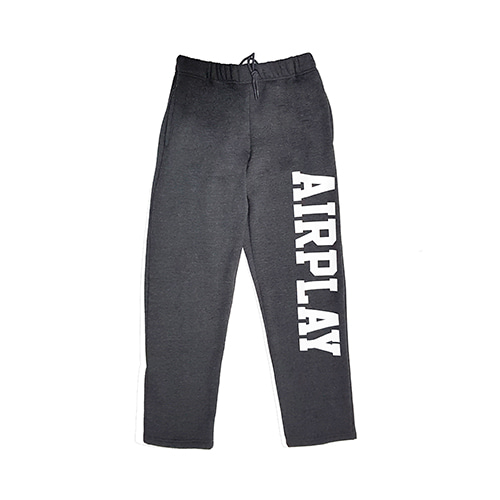[AIRPLAY_에어플레이] Sweatpants (Dark Gray)