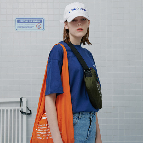 로너 Diving club shopping bag-orange