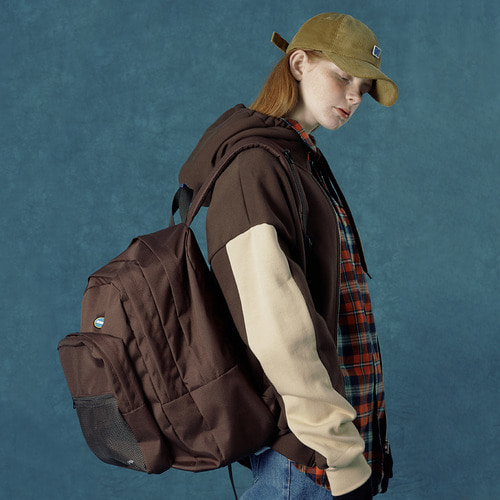 앤커버 NCOVER Authentic backpack-brown 백팩 브라운