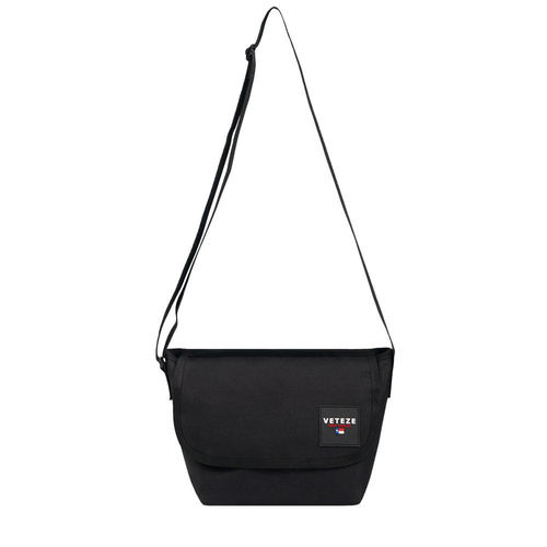 VETEZE 베테제 Retro Mini Cross Bag (Black)