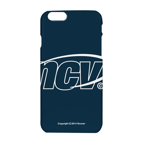 앤커버 NCOVER Big NCV logo case-navy