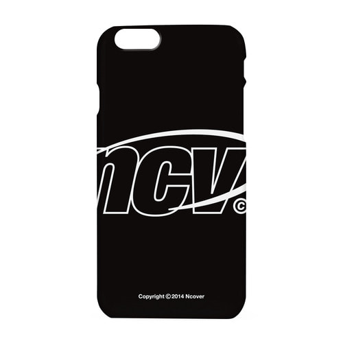 앤커버 NCOVER Big NCV logo case-black