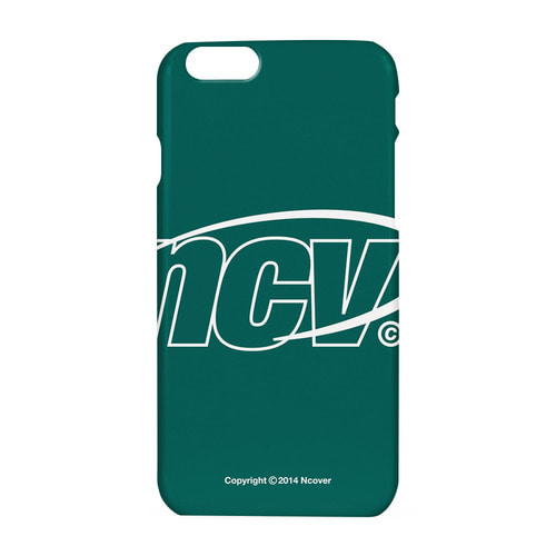 앤커버 NCOVER Big NCV logo case-emerald
