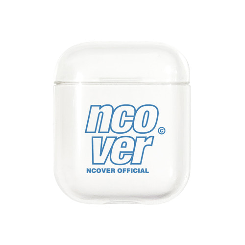 앤커버 NCOVER Double line logo case-clear(airpods case)