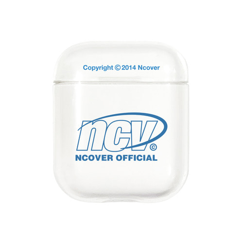 앤커버 NCOVER Quarter ellipse logo case-clear(airpods case)