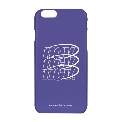 앤커버 NCOVER Triple NCV logo case-purple