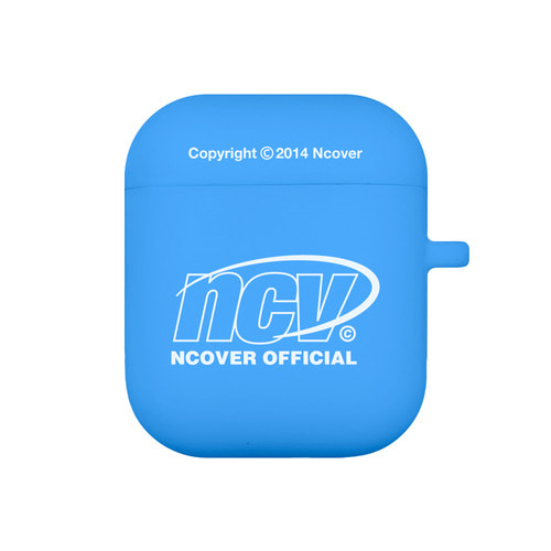 앤커버 NCOVER Quarter ellipse logo case-blue(airpods case)