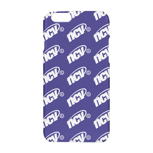 앤커버 NCOVER Ncv logo dot case-purple