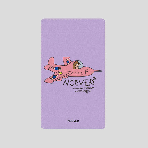 앤커버_NCOVER Combat plane-purple(battery)