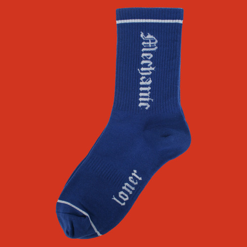 로너 LONER MECHANIC SOCKS-BLUE