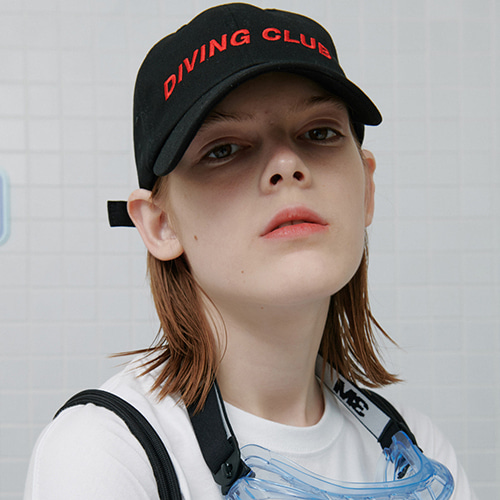 로너 LONER Diving club cap-black