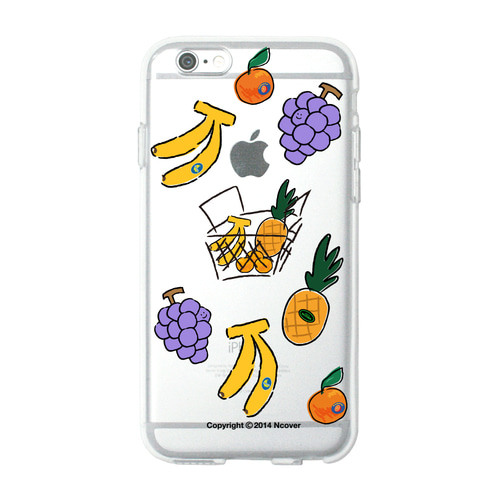 앤커버 NCOVER Fruit sticker(jelly case)