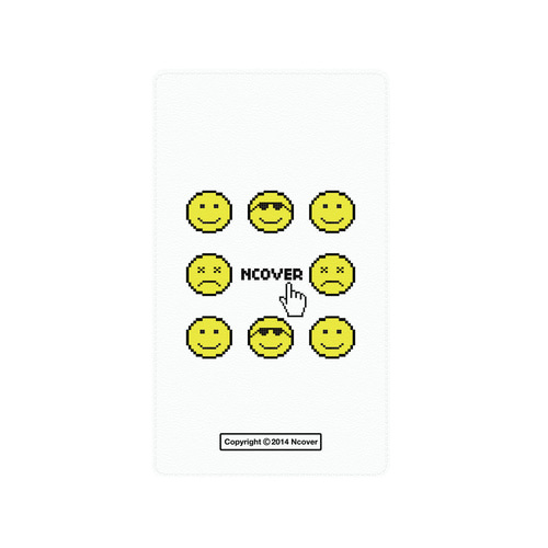 앤커버 NCOVER Smile face battery-white