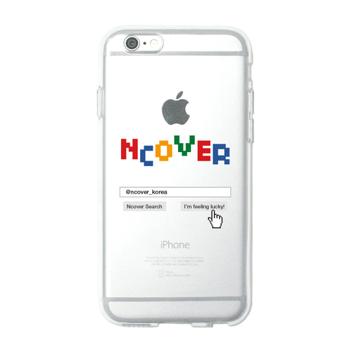 앤커버 NCOVER Color logo search(jelly case)