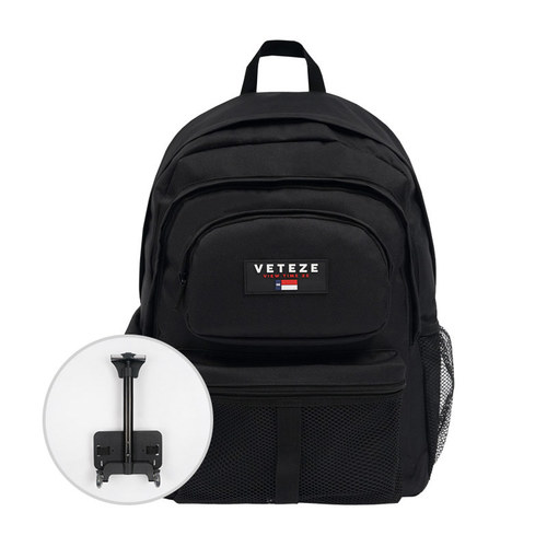 VETEZE 베테제 Retro Sport Bag 2 Carrier (black)