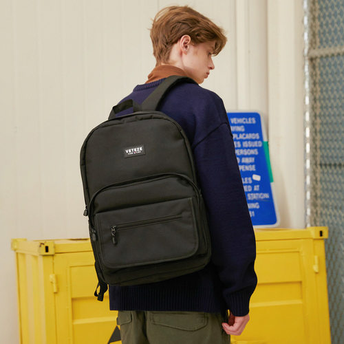 VETEZE 베테제 Signature Backpack 백팩 (black)