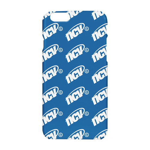앤커버 NCOVER Ncv logo dot case-blue