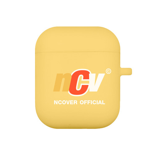 앤커버 NCOVER Color ncv logo case-yellow(airpods case)