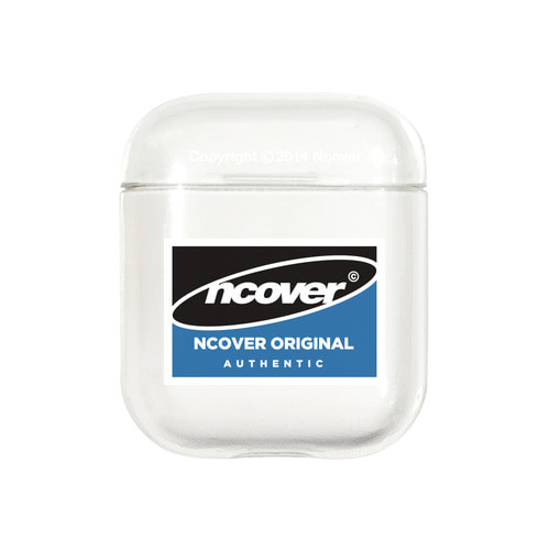 앤커버 NCOVER Square logo case-clear(airpods case)