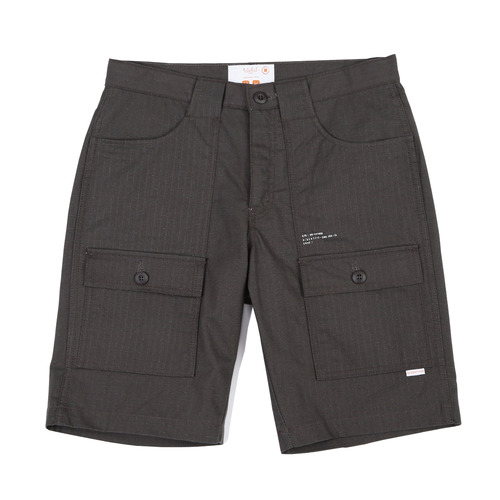 [BLEDITION_블레디션] COTTON RIPSTOP BUSH SHORT PANTS CHARCOAL